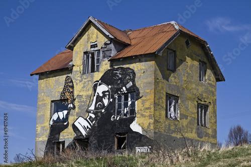 canvas print picture Street Art auf Gimsoy