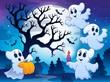 Zdjęcia na płótnie, fototapety, obrazy : Spooky tree theme image 4