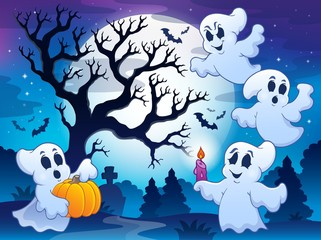 Spooky tree theme image 4