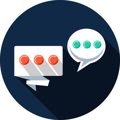 Vector Bubbles Chat Icon