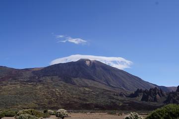 Nube al Teide