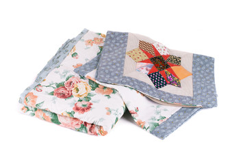 Two beautiful handmade quilts.