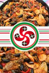 Paella de la Côte Basque