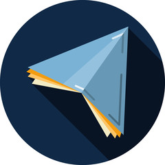Vector Paper Plane
