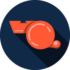 Vector Whistle Icon