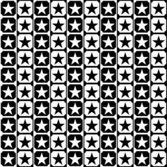 Vector seamless star pattern for creative work