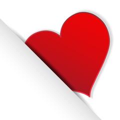 Vector heart symbol icon