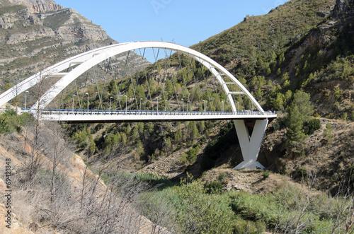 canvas print picture Puente de Dos Aguas y Millares, España