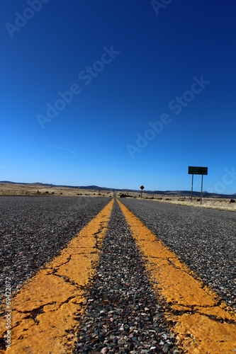 canvas print picture Road 66
