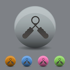 expander icon in  design wihh shadow