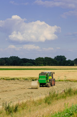 Tractors and harvesting