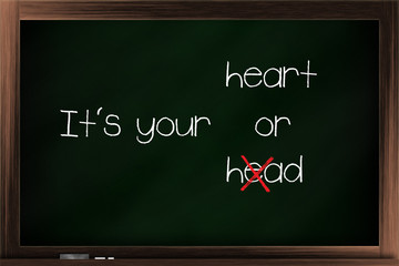 Choices of heart and head