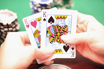 Pokerstrategie - Nahaufnahme