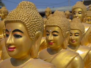 Buddhafiguren in Kambodscha