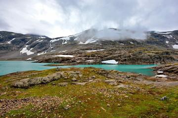 Krajobraz górski, Norwegia