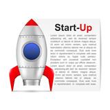 Start-Up Banner poster