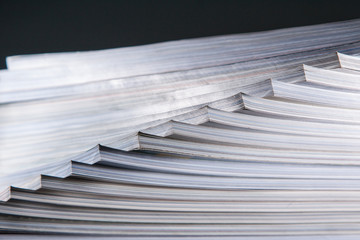 Abstract stack of book
