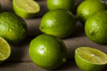Raw Organic Green Limes