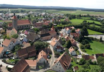 View of German village