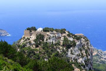 Festung Monolithos auf Rhodos