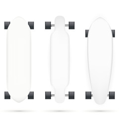 Vector mock-up for longboards