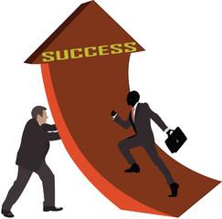 la salita del successo