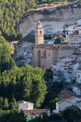 Iglesia De San Andrés. Alcalá Del Júcar (Albacete) España