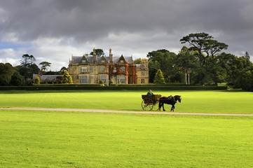Muckross House, Killarney, County Kerry, Irlandia