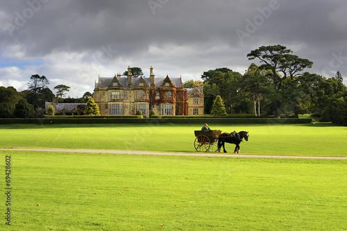 Leinwanddruck Bild Muckross House, Killarney, County Kerry, Irlandia