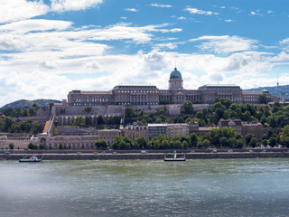 The Royal Palace or Castle in Budapest Hungary