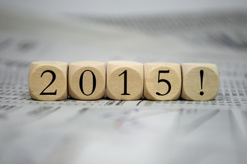 Würfel mit 2015