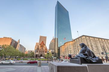 Copley Square in Boston, MA, USA