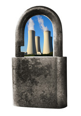 Energy concepts with nuclear power plant for security