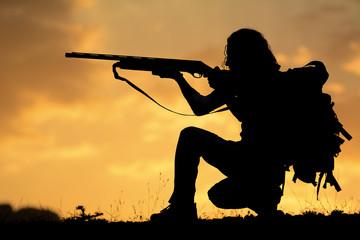 av tüfeği ile nişan almak