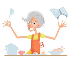 Granny cook