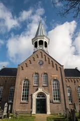 Voorzijde kerk Midsland op Terschelling