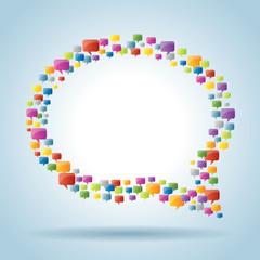 bubble of communication