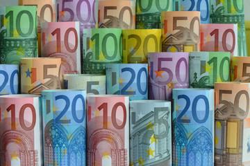 Geld, Banknoten, Geldscheine, Euro, Finanzen, Steuern