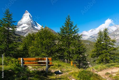 Matterhorn peak, Zermatt, Switzerland © grzegorz_pakula