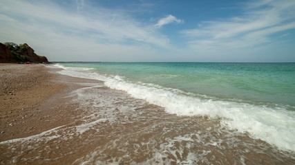 Surf on the coast