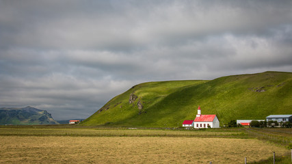 Campagne église islandaise Islande