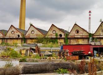 Schornstein einer Fabrik in Tschechien