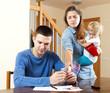 Quarrel in the family of three