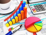 Business, finance and accounting concept - 69435071