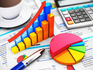 Business, finance and accounting concept