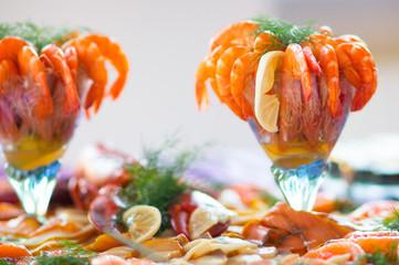 Shrimps Salat Cocktail