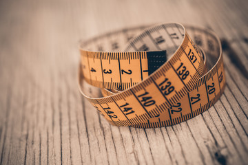 vintage measuring tape
