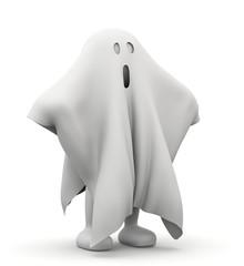 omino bianco fantasma
