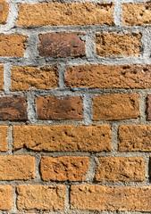 Ziegelsteinmauer