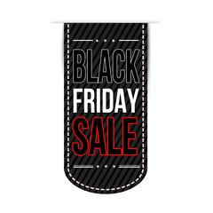 Black friday banner design
